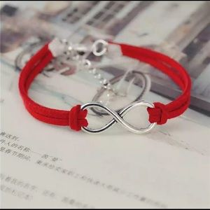 Infinity Bracelet with 100% Leather dif. colors